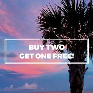 Buy Two Get One Free! Plus 4.99 Shipping!